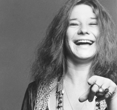 Sonrisa de Janis Joplin