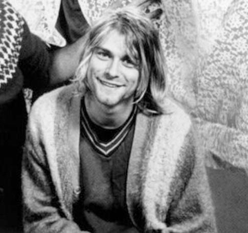 Sonrisa de Kurt Cobain