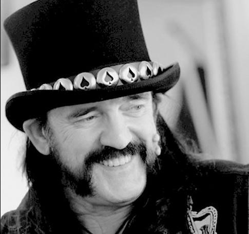 Sonrisa de Lemmy Kilmister
