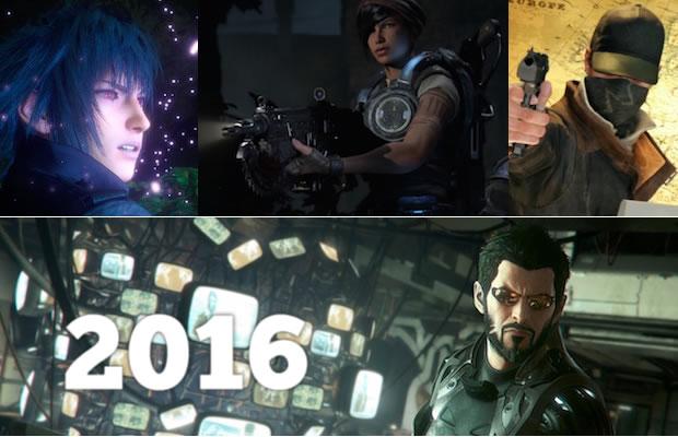 El 2016 será un gran año para los videojuegos