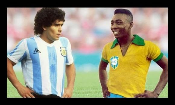Maradona es mejor rockero que Pelé