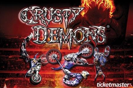 CRUSTY DEMON SHOW en México - 31 Marzo