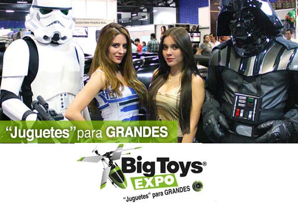 Llega la Expo Big Toys, la expo para los 'niños' grandes