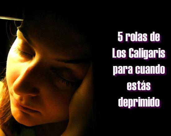 Cinco rolas de Los Caligaris para cuando estás deprimido