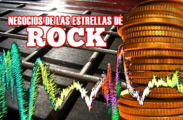 Negocios de las estrellas del rock