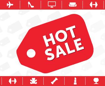 Hot Sale pone sonido a tus sentidos.  Las mejores ofertas Hot Sale las vas a encontrar en la tienda en línea de Walmart