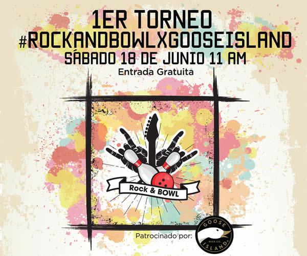 1º TORNEO DE BOLICHE #ROCKANDBOWLXGOOSEISLAND