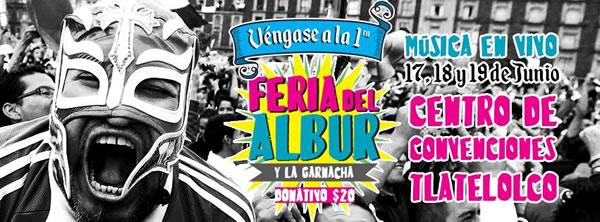 1ER FERIA DEL ALBUR EN LA CDMX