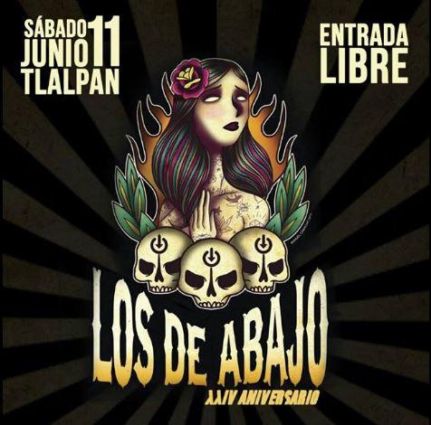 LOS DE ABAJO CELEBRAN XXIV AÑOS con un gran festival