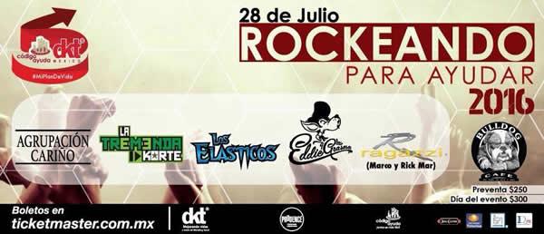 Bandas de rock en concierto con causa 'Adiós a la calle'