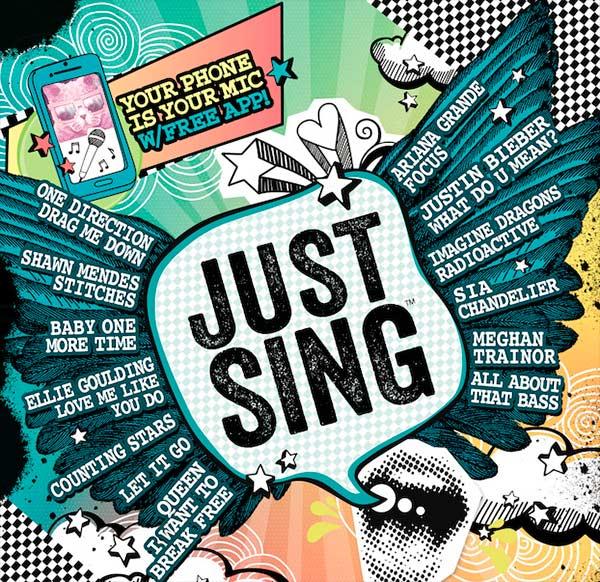 CONVIÉRTETE EN EL MEJOR CANTANTE CON JUST SING™