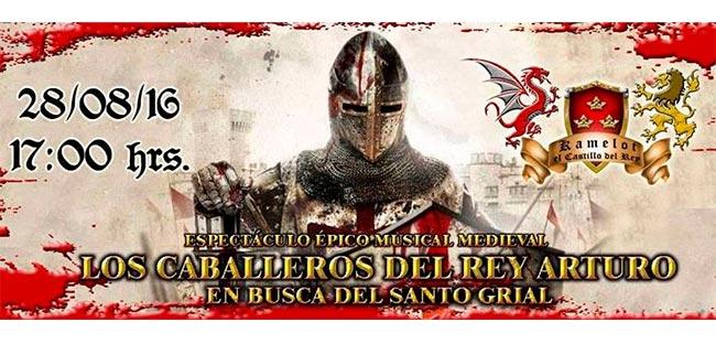 Espectáculo Épico Medieval este 28 de Agosto en el CC Miguel Sabido