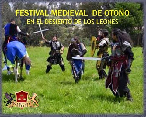 Gran Festival Medieval de Otoño de KAMELOT EL CASTILLO DEL REY en el ex convento del Desierto de los Leones