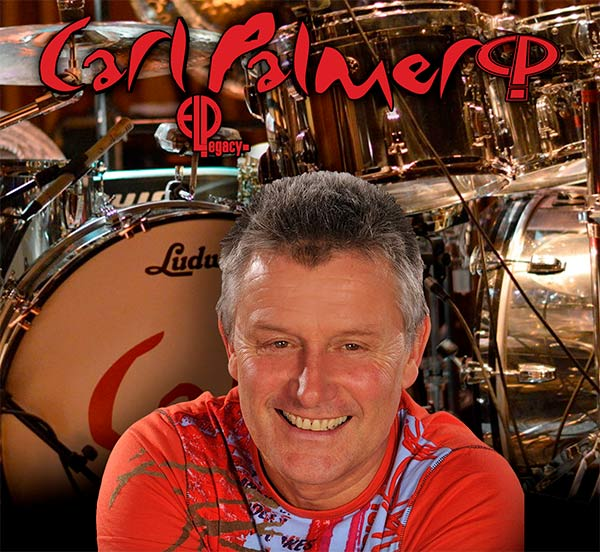 El baterista y percusionista británico Carl Palmer llega al Lunario