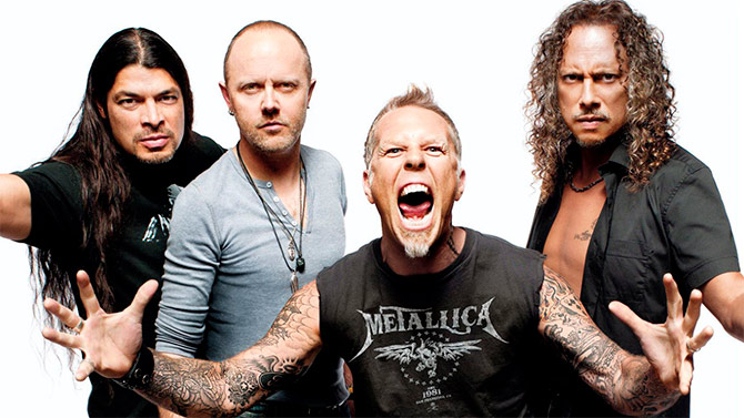 El super que armaría Metallica en México