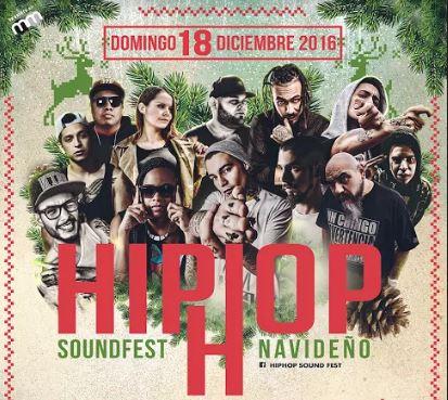 HIP HOP SOUND FEST NAVIDEÑO 11 HORAS DE HIP HOP - 18 DIC