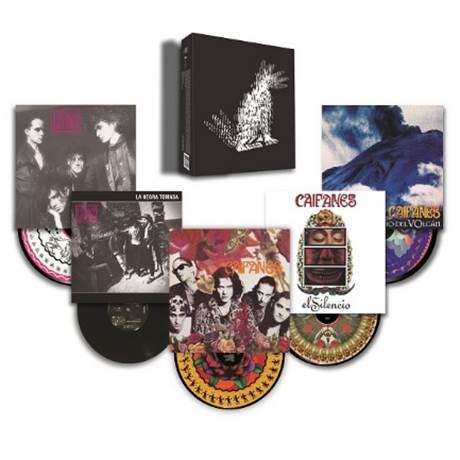 CAIFANES presenta su discografía completa en una edición especial en formato vinil.