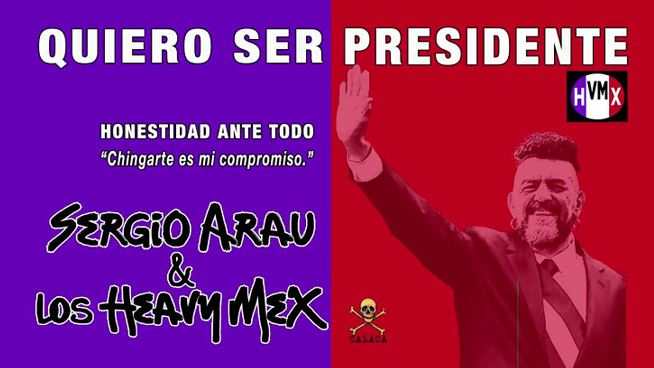 La campaña presidencial ya empezó y contamos con el mejor candidato!