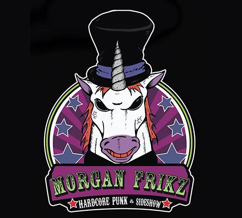 Conoce a Morgan Frikz y su espectáculo de circo-freak