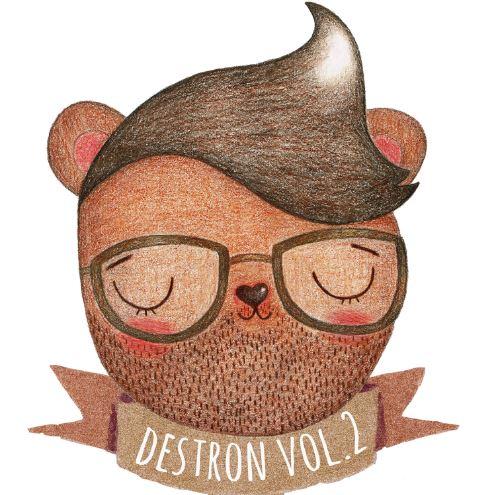 DESTRON VOL. 2 nuevo compilado de Molécula Records.