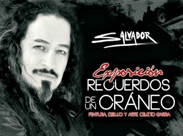 RECUERDOS DE UN CRÁNEO exposición de Salvador Moreno, vocalista de La Casta