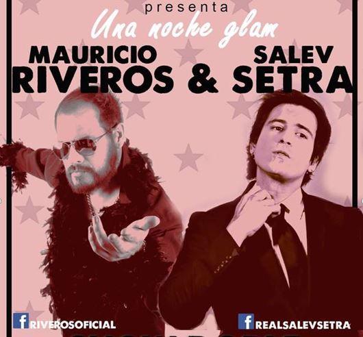 Glam Rock con Salev Setra y Mauricio Riveros en el Foro Bizarro