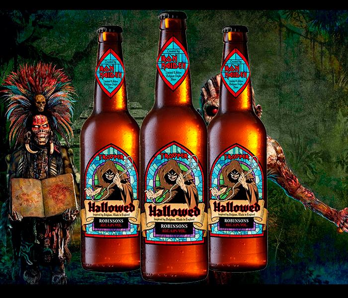 HALLOWED, La nueva cerveza de IRON MAIDEN