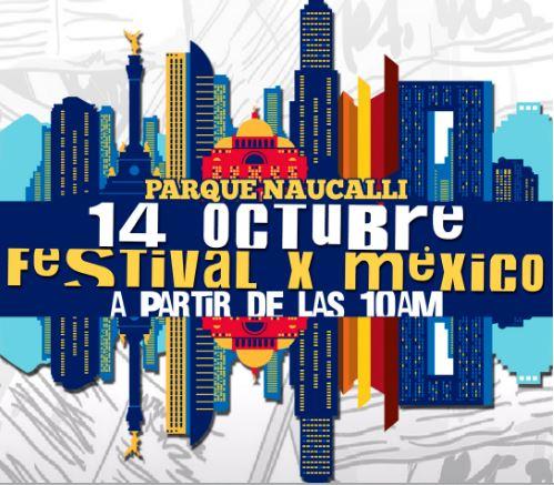 FESTIVAL POR MEXICO en Parque Naucalli