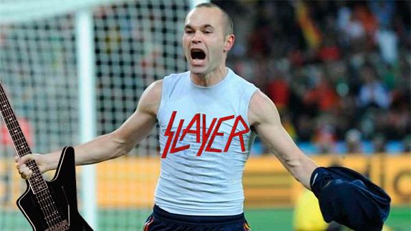 Iniesta, el jugador del Barcelona más rockero