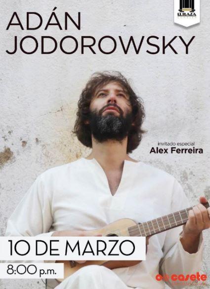 ADAN JODOROWSKI anuncia próximo concierto
