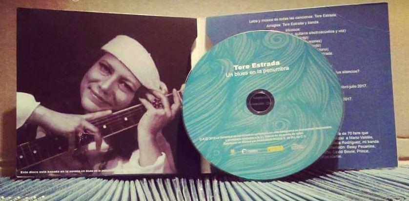 TERE ESTRADA, Un blues en la penumbra, reseña