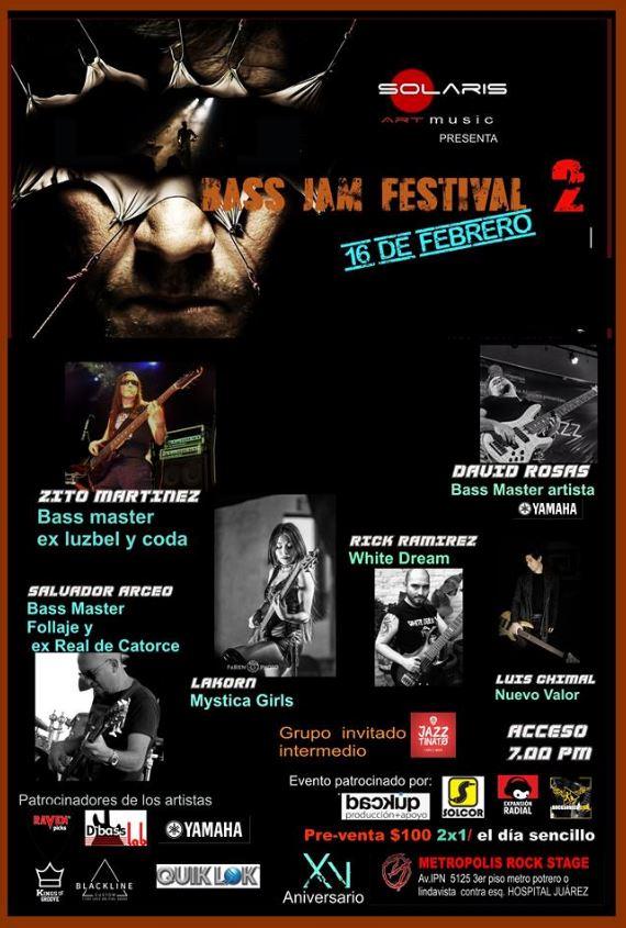 BASS JAM FESTIVAL 2 - 16 de febrero