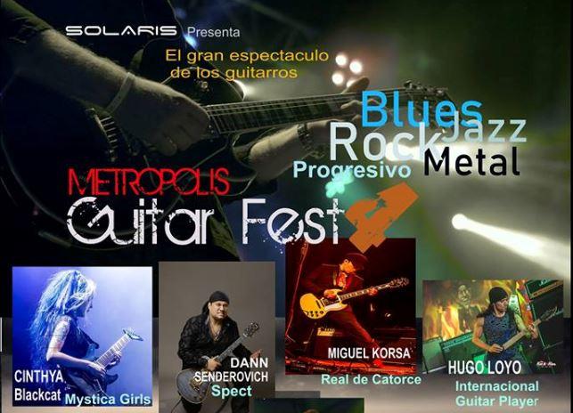 METROPOLIS GUITAR FEST 4ta edición - 18 de Mayo