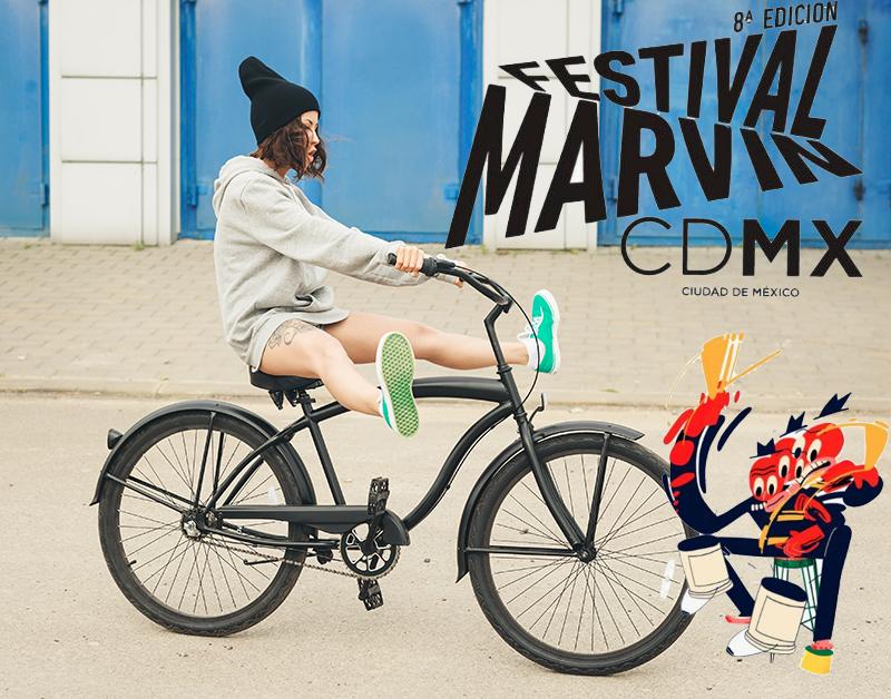 Deja las cuatro llantas para otro día.  Festival Marvin 2018 CDMX