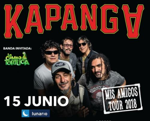 KAPANGA llega con 'Mis Amigos Tour 2018' a la CDMX