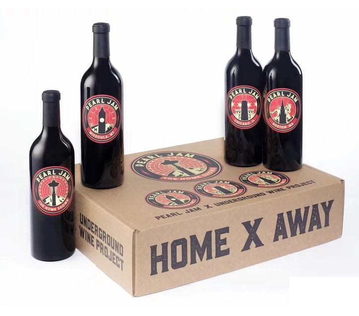Pearl Jam tienen su propio vino tinto de edición limitada