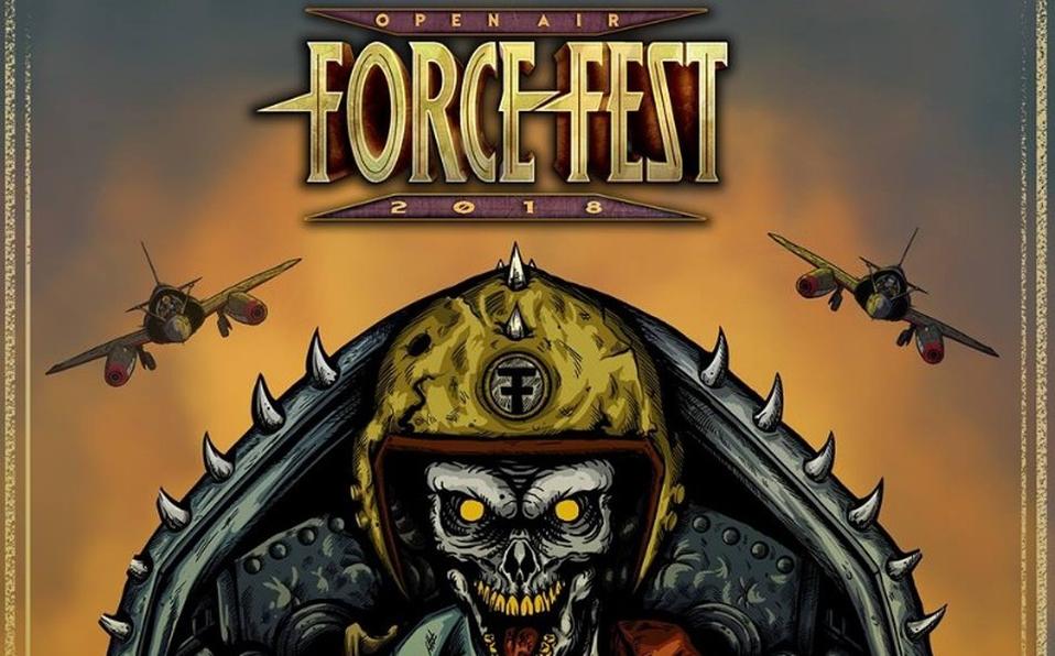El paso de  bandas en ediciones pasadas del Force Fest