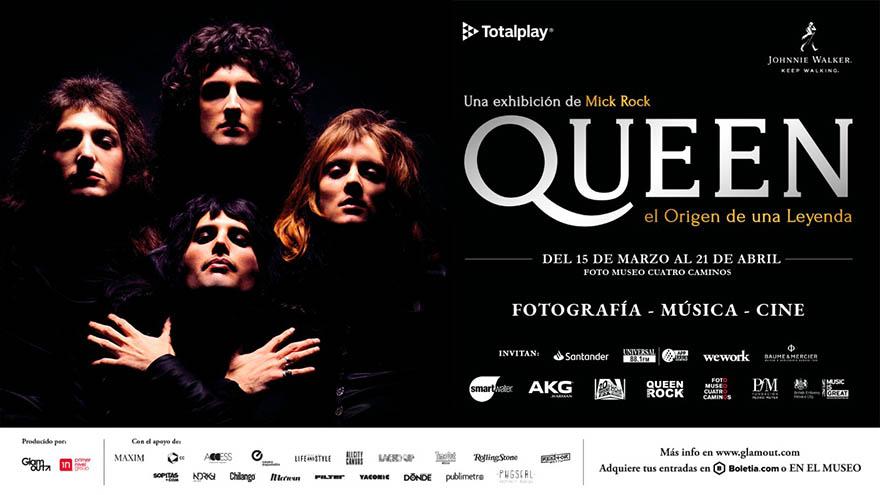 Llega 'Queen: El origen de una leyenda' al foro cuatro caminos