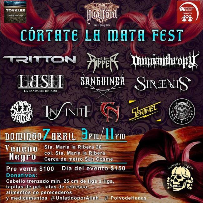 Córtate la Mata Fest - Festival altruista