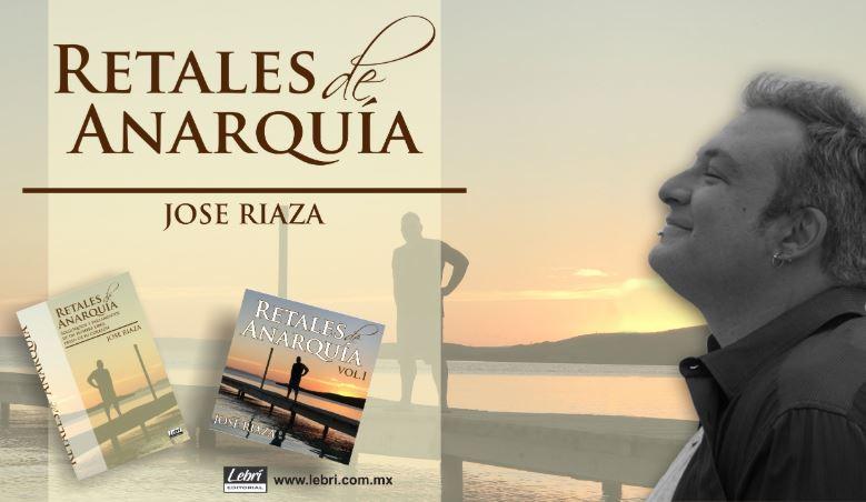 Jose Riaza presenta su primer libro 'Retales de Anarquía'