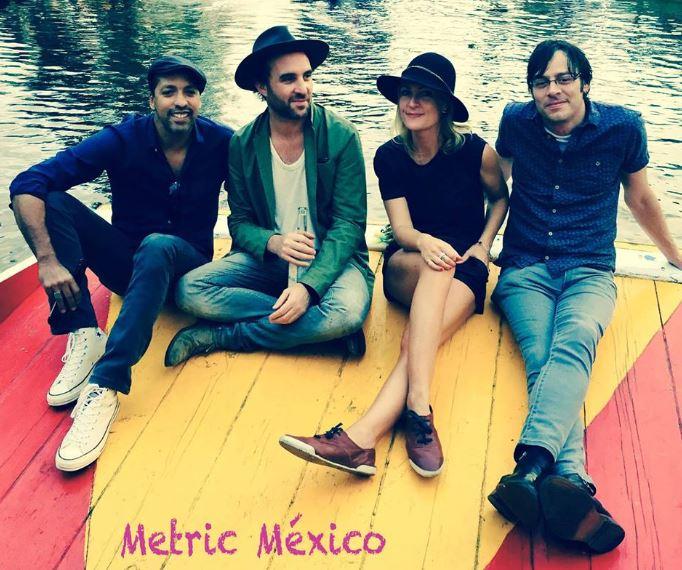Metric se presenta en El Plaza Condesa en Octubre.