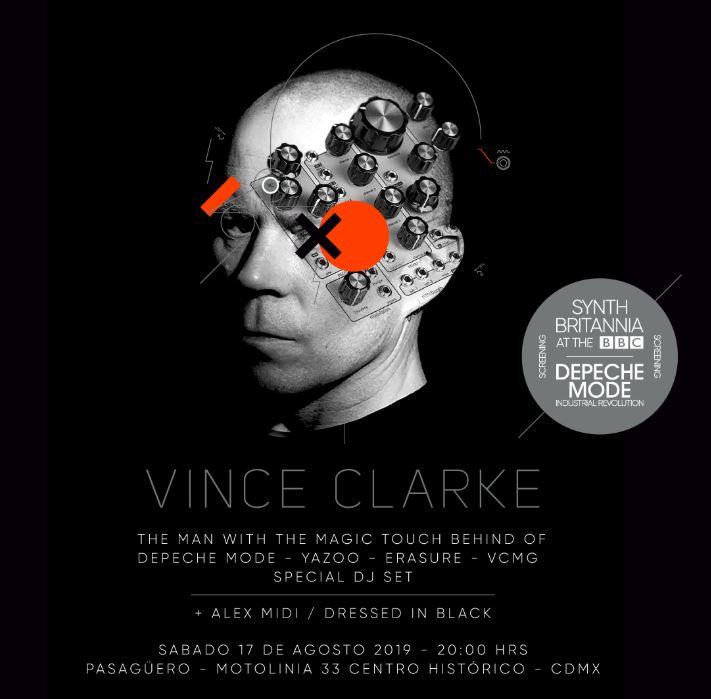 7 razones para ver a Vince Clarke en la CDMX