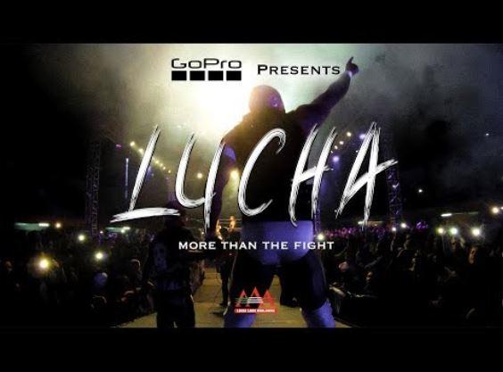 GoPro estrena Lucha, más que una pelea, un documental sobre lucha libre mexicana.