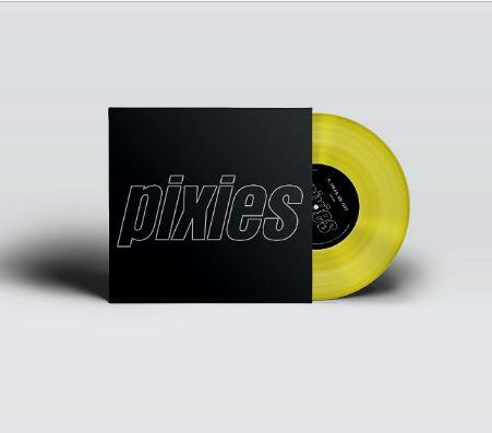 PIXIES presenta 12'' amarillo de edición limitada con 'HEAR ME OUT' y 'MAMBO SUN'