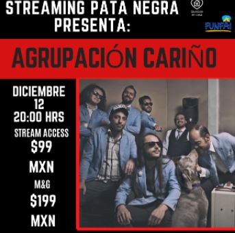 STREAMING PATA NEGRA Diciembre 2020