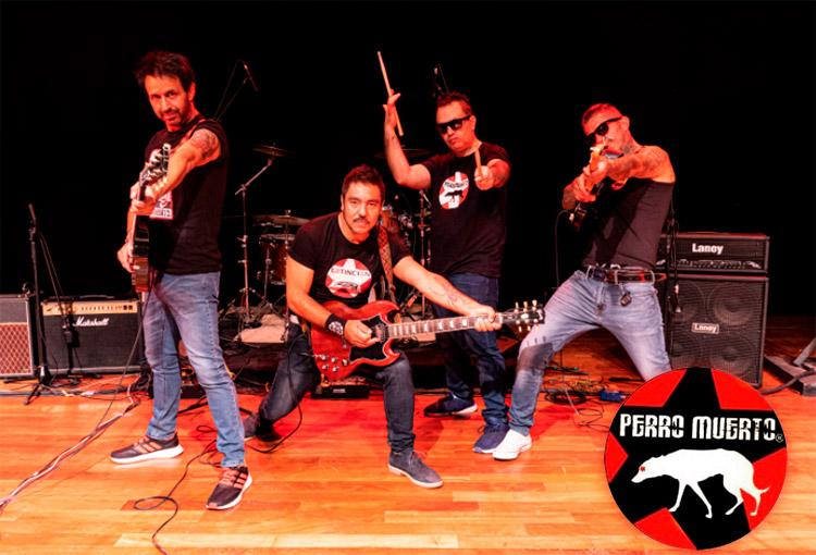 Conoce a Perro Muerto, banda chilena presentando su tercer álbum