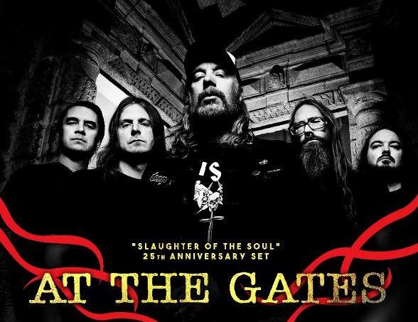 AT THE GATES dará presentación especial en el  MxMFVI
