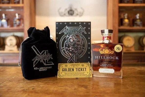 ANTHRAX Celebra su 40 aniversario con nuevo whiskey