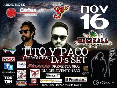 Paco Ayala & Tito [DJSet] en la Peninsula.