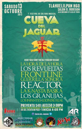 7° Festival de Cultura Musical Cueva del Jaguar